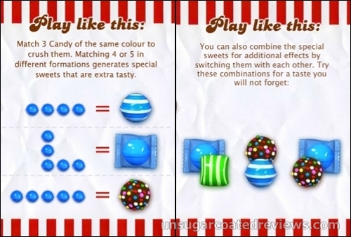 Candy Crush Saga instructions