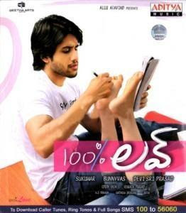100% Love 2011 Telugu Movie Watch Online