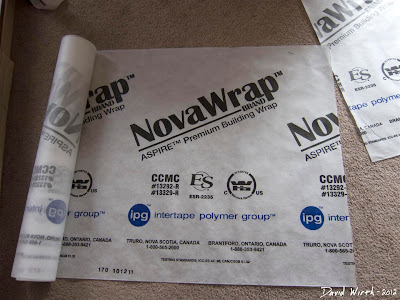 NovaWrap, nova wrap, premium building wrap, vapor barrier, tyvek