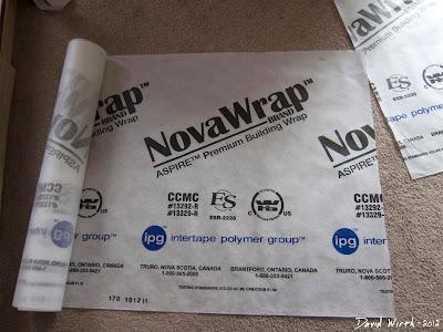 NovaWrap, nova wrap, premium building wrap, vapor barrier, tyvek