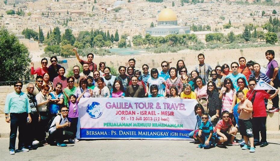 GALILEA TOUR | Holyland Tour Jakarta | Holyland Tour Murah | Holyland Indonesia | Holyland Tour
