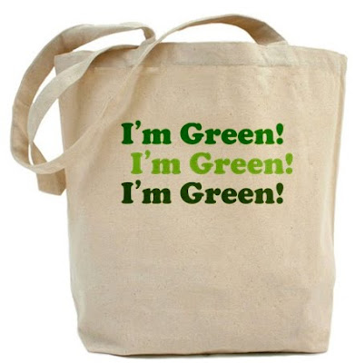 Ecobag green: I'm green