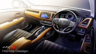 interior Honda Vezel 2014
