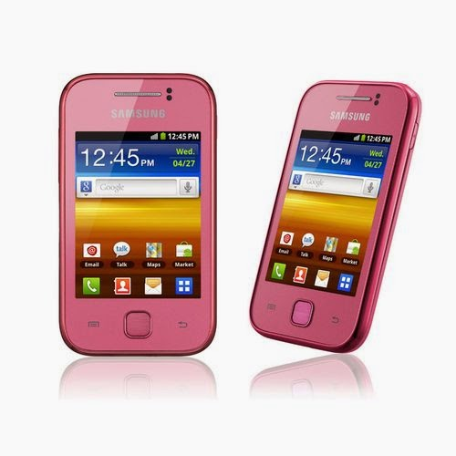 Samsung Galaxy Y Rose SGH S5360 smartphone 3 pouces