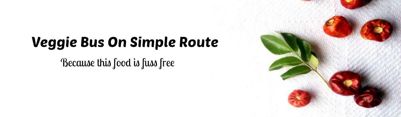 Veggie bus on simple route
