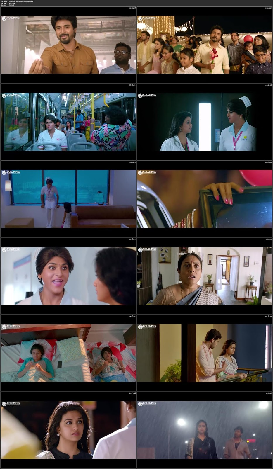 Remo 2018 Hindi Dubbed Movie WEBHD 720p
