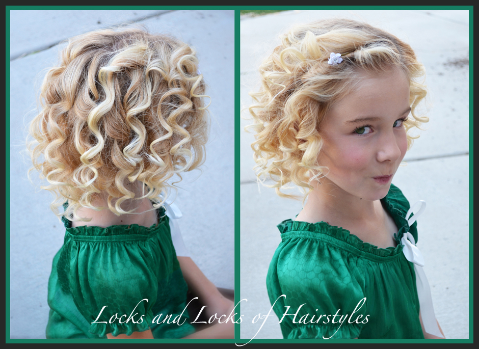 Locks And Locks Of Hairstyles: Quick And Easy Video Tutorials: Heated Curls