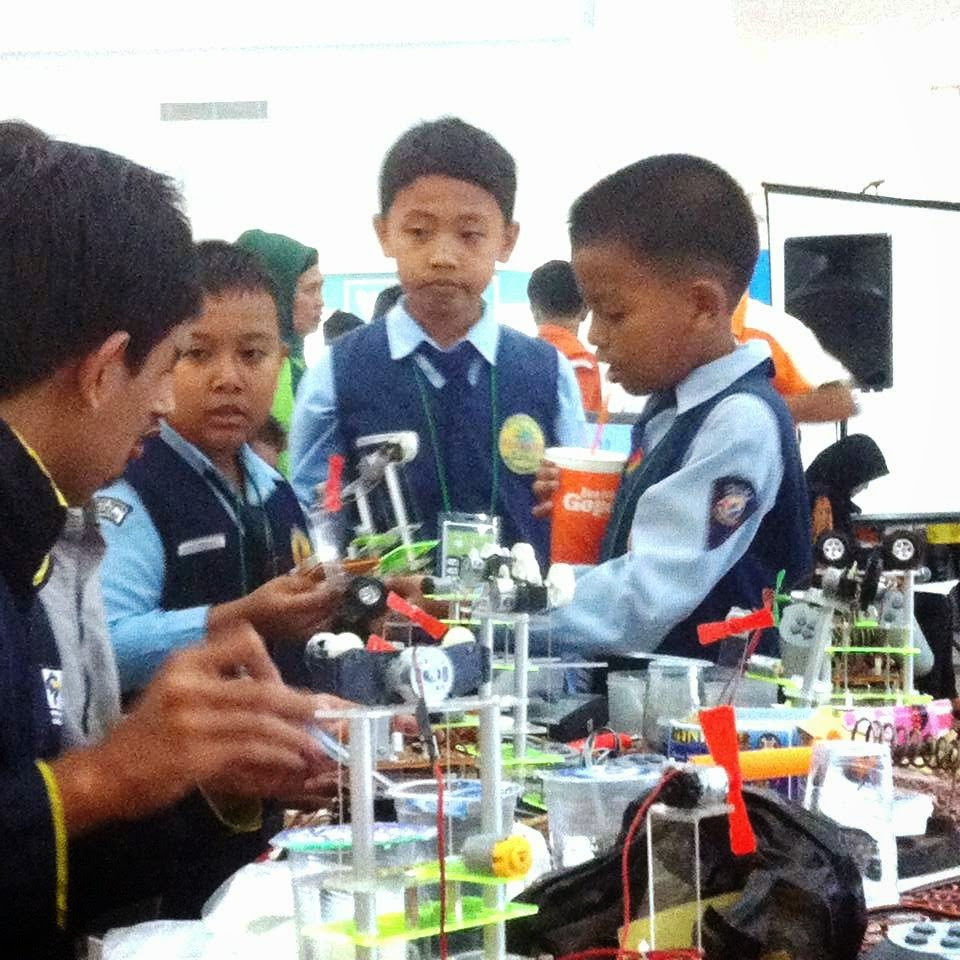 SDMT Juarai Honda Robotic Competition 2015