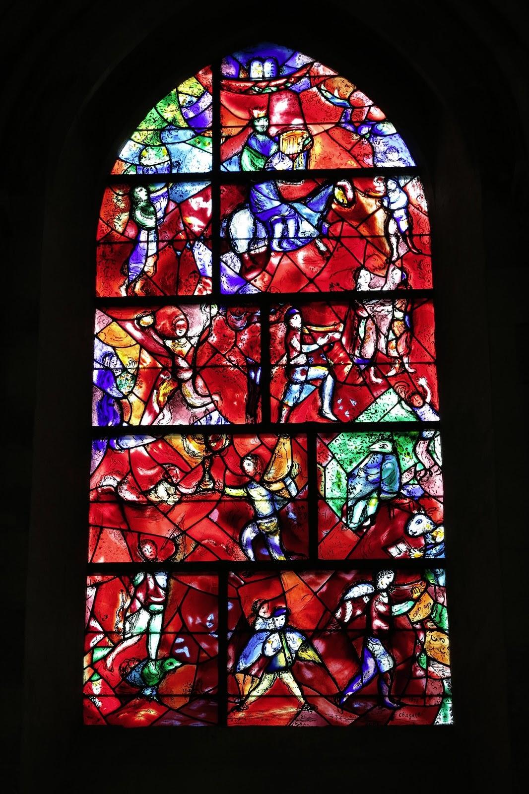 De Ontdekking van het Licht: juni 2013 Chagall Glas In Lood