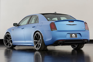Chrysler 300 Super S Concept (2015) Rear Side