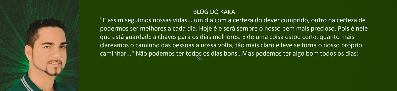 BLOG DO KAIO SERGIO