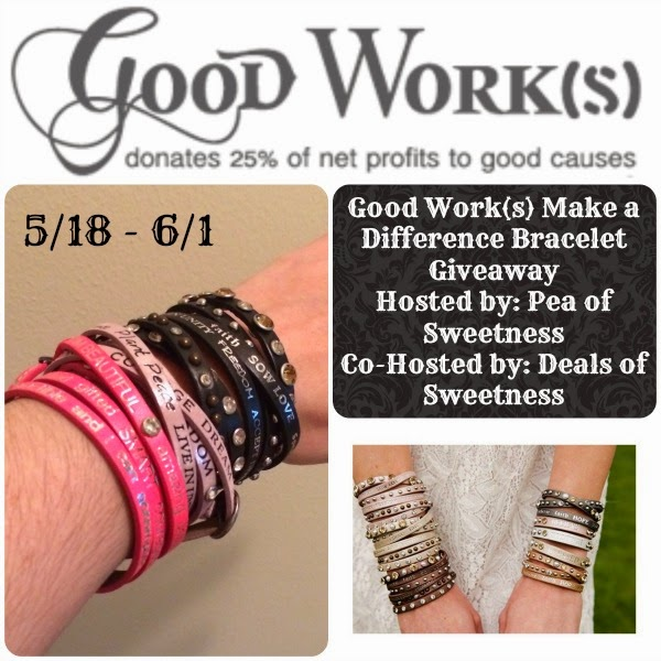 Good Work(s) Make a Difference Giveaway
