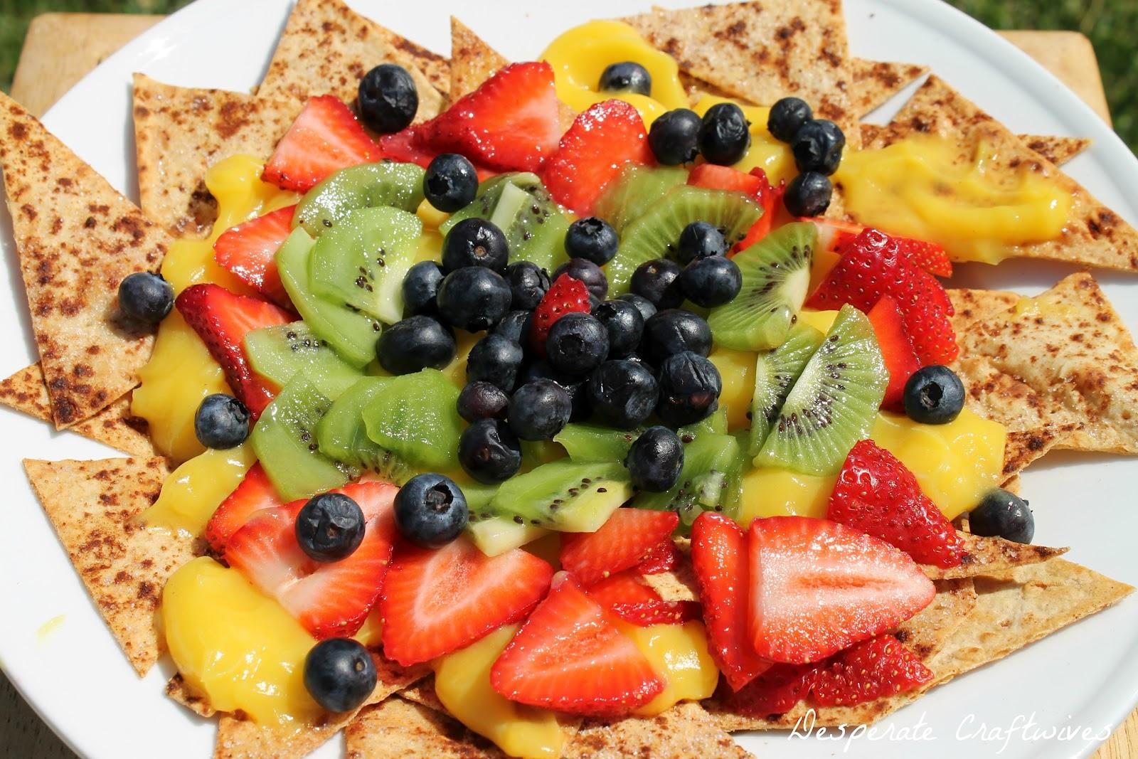 Fruit Nachos