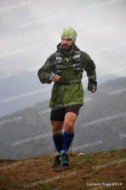 Genaro trail. Trail running Atazar.
