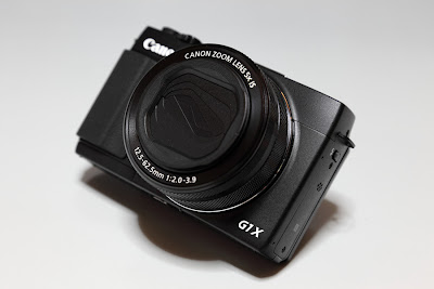 PowerShot G1 X Mark II 正面