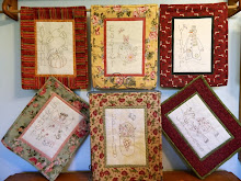 """SEASONS"" STITCHERY MINI QUILTS"