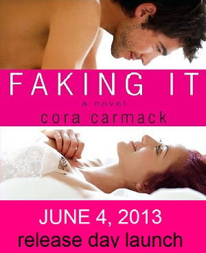Release Day & Giveaway ~ Faking it by Cora Cormack