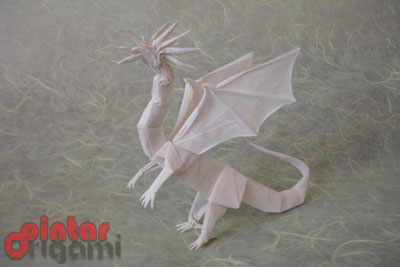 Origami Dragon Ala Pintar Origami