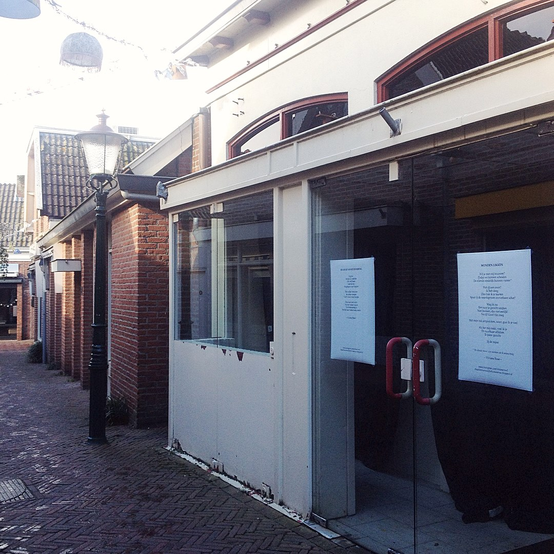 AGENDA: Two poems in the Kerkstraat, Ommen, NL
