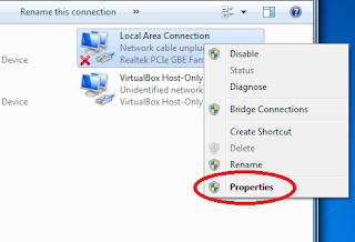Cara Mudah Mensetting IP Address Pada Windows 7
