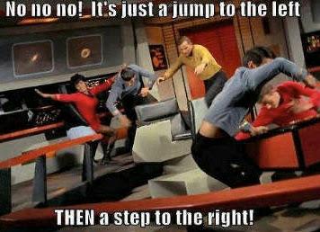 The Star Trek Hokey Pokey