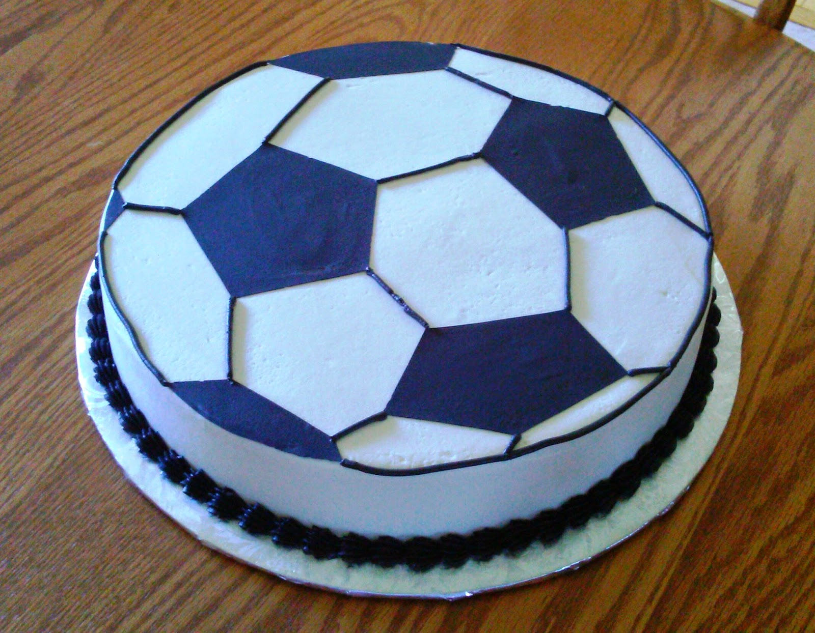 Simply Sweet: Soccer Ball Cake