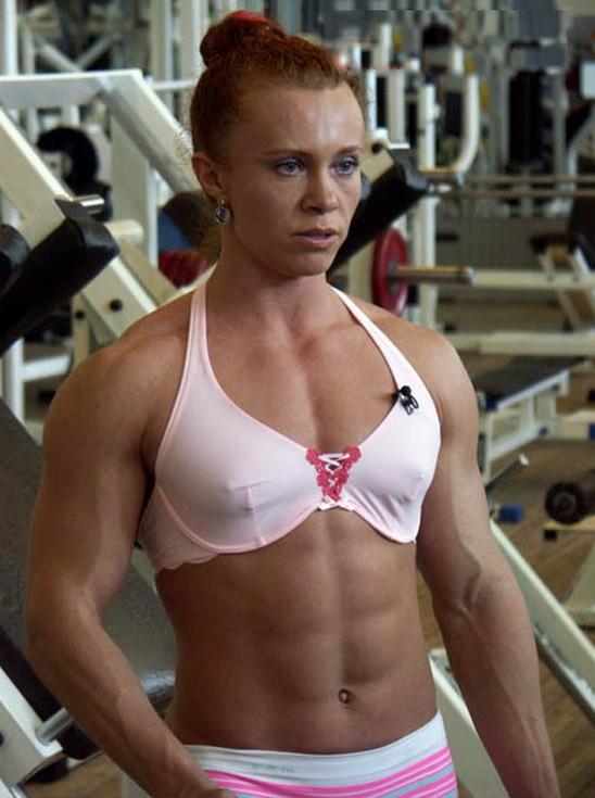 Bentot Strong Woman Muscular Woman Elena Shportun Amateur Female
