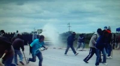 represión en Castelli