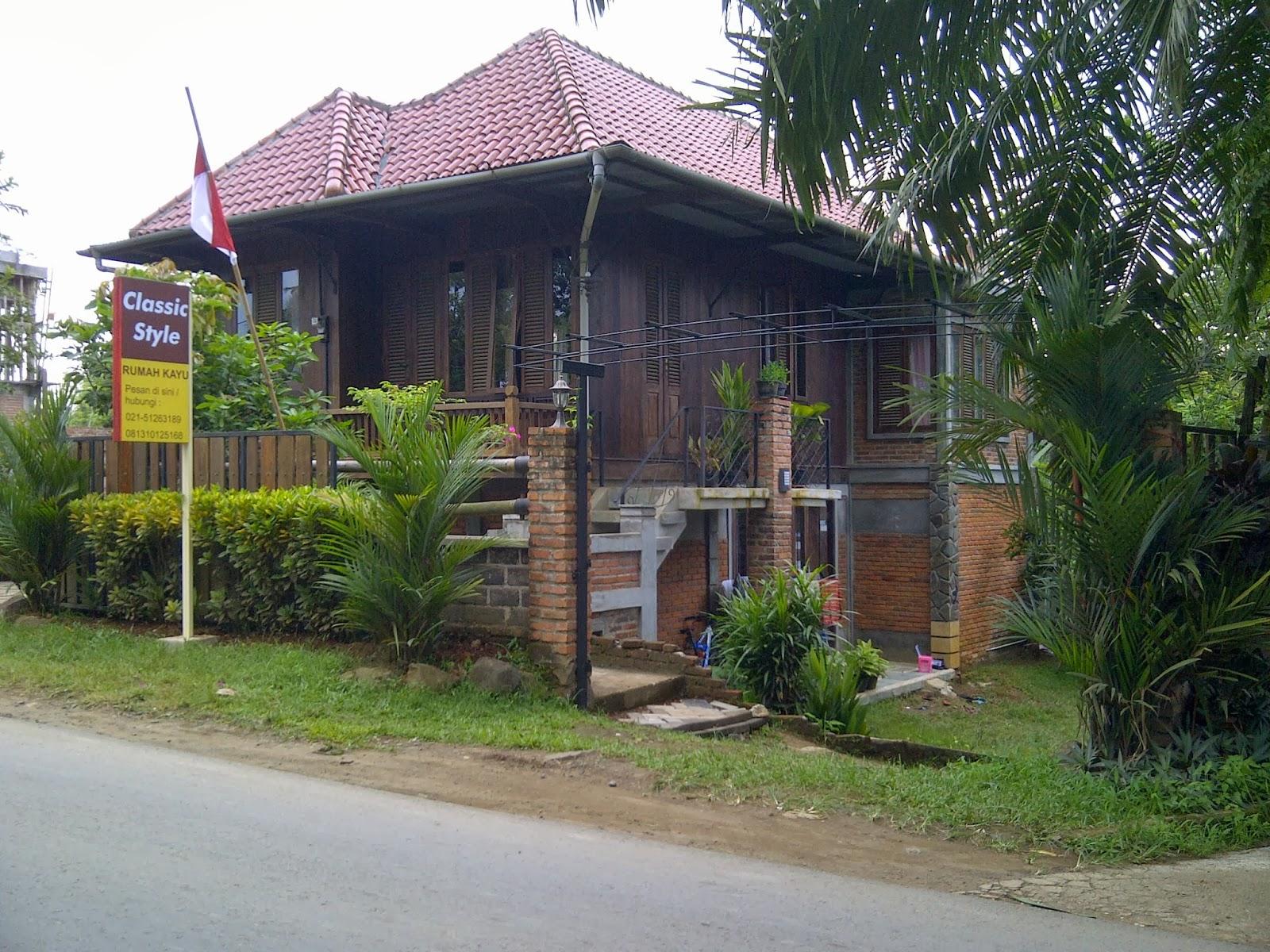 Rumah Kayu Klasik & Rumah Kayu Klasik: Menjual Rumah kayu tradisional