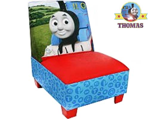 Vibrant Handy Thomas The Tank Engine Toddler Chair Armless Size Stool To  Accommodate Tot Or Child