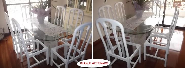 ESMALTE BRANCO ACETINADO