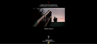 Pak site Got hacked