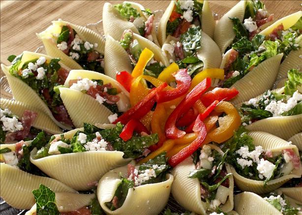 Como preparar ensalada de concha de pasta ~ Ideas Para Cocinar