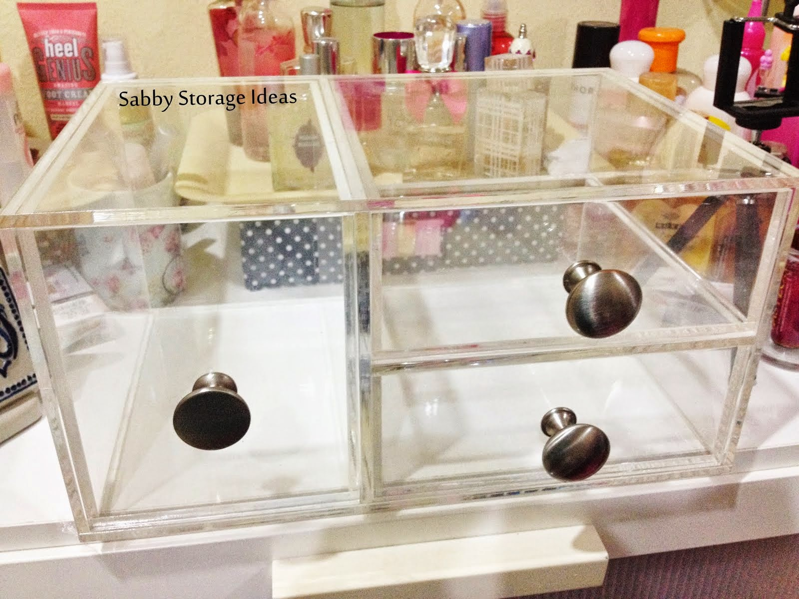 Organize your makeup with The Sabrina Box!