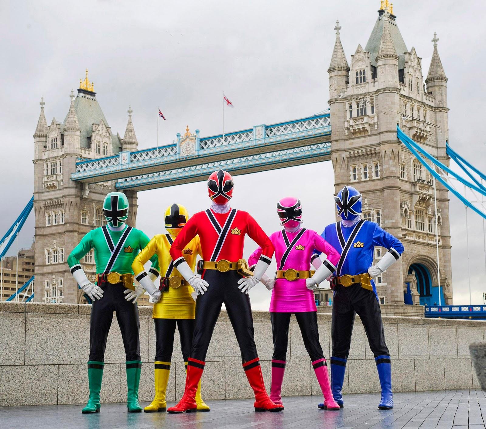Power Rangers Celebrate In London
