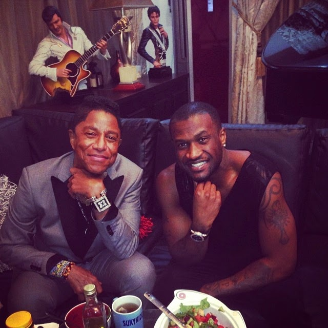 Peter Okoye Shares More Photos With Jermaine Jackson With No Sign of Paul and Jude