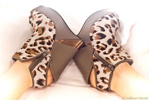 Psynopsis Faith Leopard Print Shoes