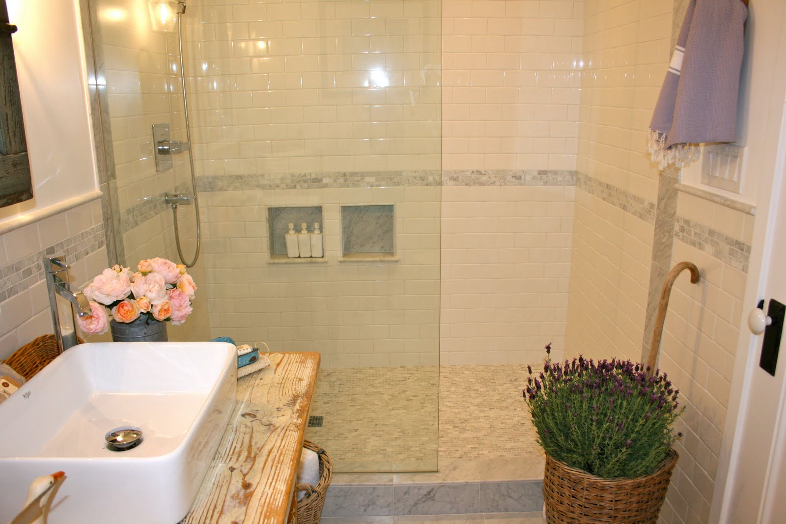 The Polished Pebble The Modern Country Bathroom All