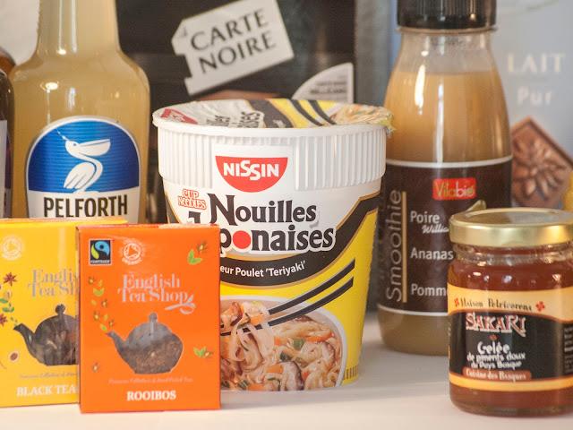 nouilles japonaises, nissin, avis, degustabox, box, alimentaire