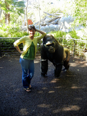 Me and a gorilla