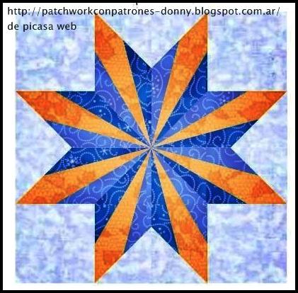 Patchwork estrellas patrones imagui - Patchwork en casa patrones gratis ...