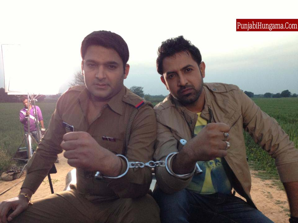 Gippy Grewal & Kapil Sharma