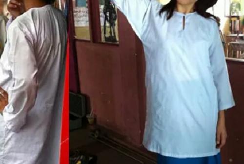 Larangan Menggunakan Baju Kurung Bukan Daripada Kementerian