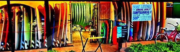 Surfshop en Tamarindo