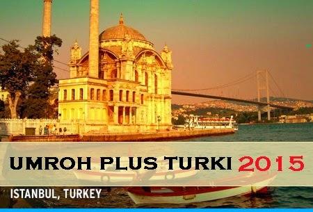Paket Umroh promo Plus Turki Januari 2015