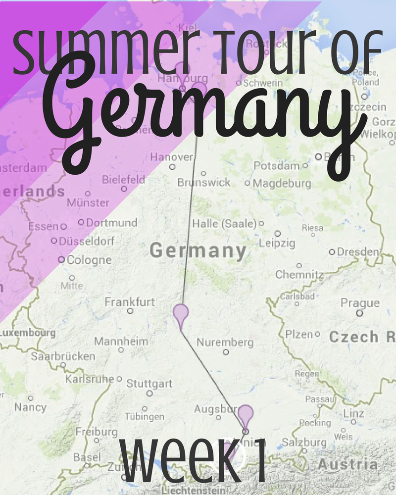 One-week tour of Germany