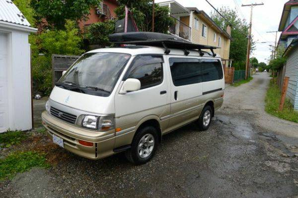 1994 Toyota Hiace 4x4 Van For Sale