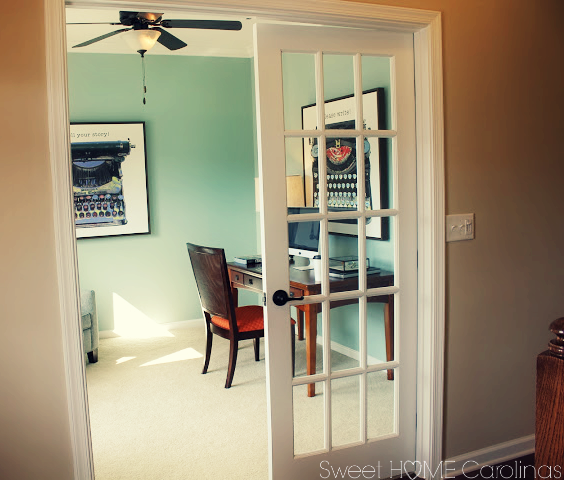 ryan homes formal living room study upgrade french doors