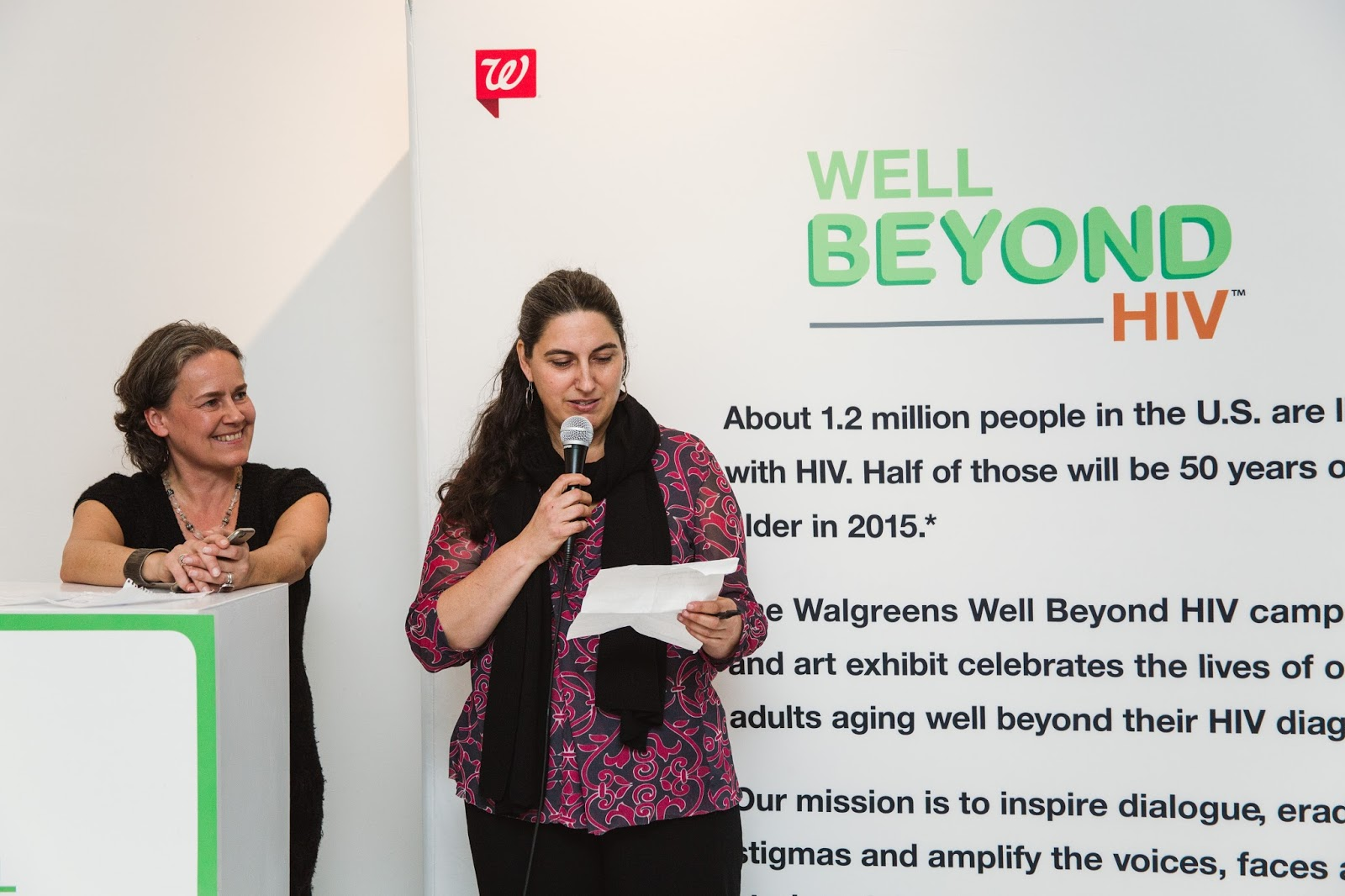 Katja Heinemann & Naomi Schlegoff Well Beyond HIV event