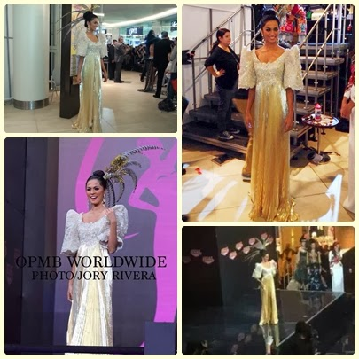 Ariella Arida elegant and classy in her National Costume for Miss Universe 2013